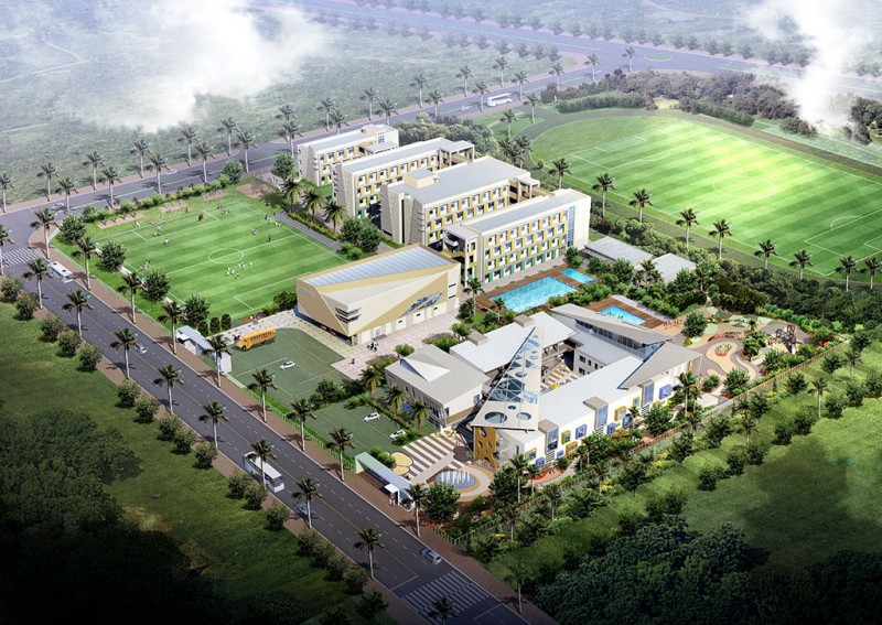 Educational facilities - North An Khanh City